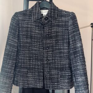 Oscar de la Renta tweed set